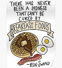 Breakfast Foods Poster