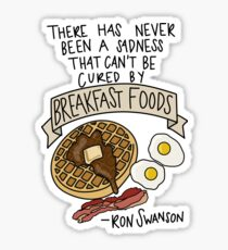 Breakfast Foods Sticker