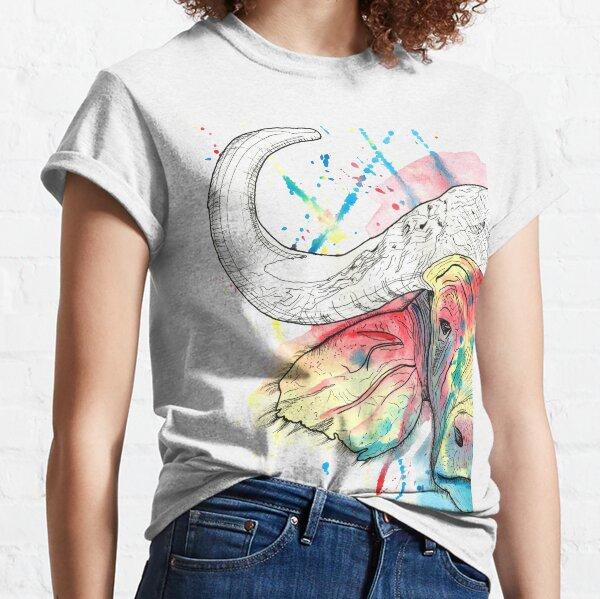 Buffalo Watercolour Classic T-Shirt