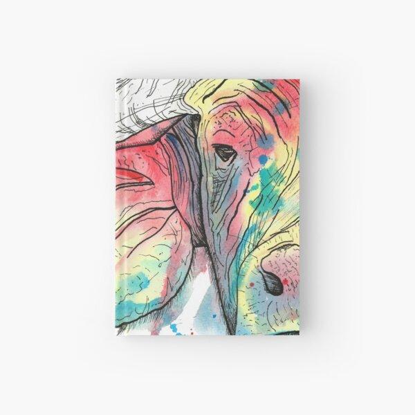 Buffalo Watercolour Hardcover Journal