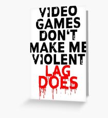 Lag does Greeting Card