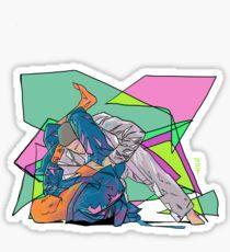 Jiu jitsu Sticker