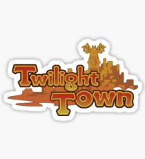 Twilight town Sticker