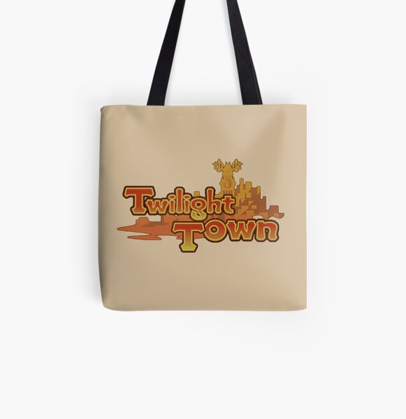 Twilight town All Over Print Tote Bag