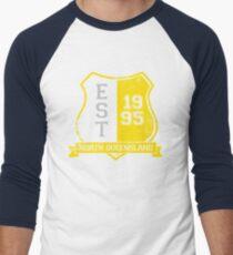 North Queensland Rugby League: Established Shield Men's Baseball ¾ T-Shirt