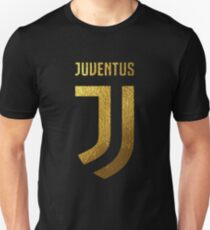 juventus new logo gold Unisex T-Shirt