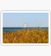 Frankfort North Breakwater Lighthouse Sticker