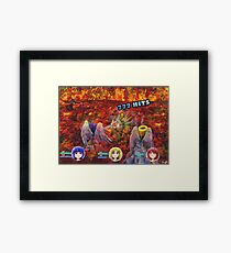 Remote Angel RPG Framed Print