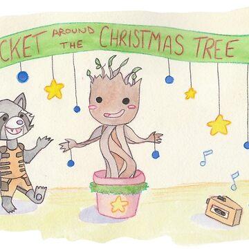 Rocket around the Christmas tree by Alan2903