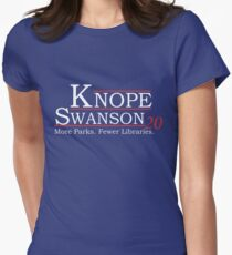 Knope Swanson 2020 Womens Fitted T-Shirt
