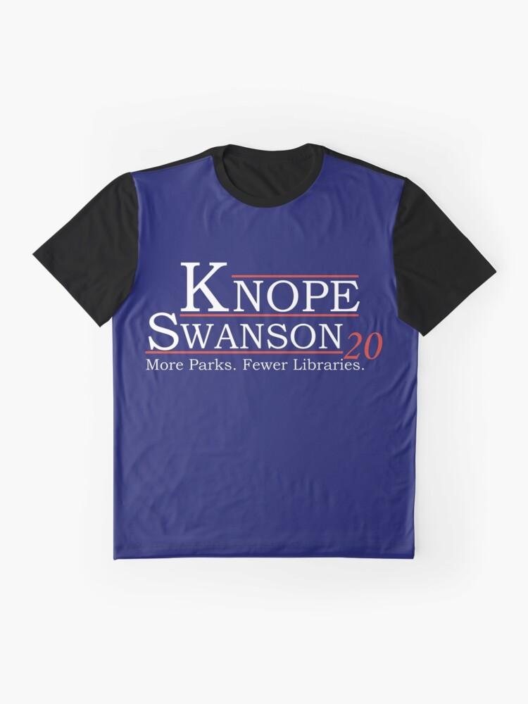 Vista alternativa de Camiseta gráfica Knope Swanson 2020