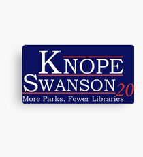 Knope Swanson 2020 Canvas Print
