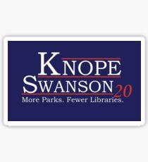 Knope Swanson 2020 Sticker