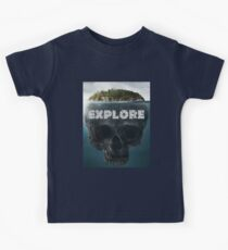 Scull Island Explore Kids Tee