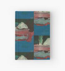 torrevieja salt loading - oil on board Hardcover Journal