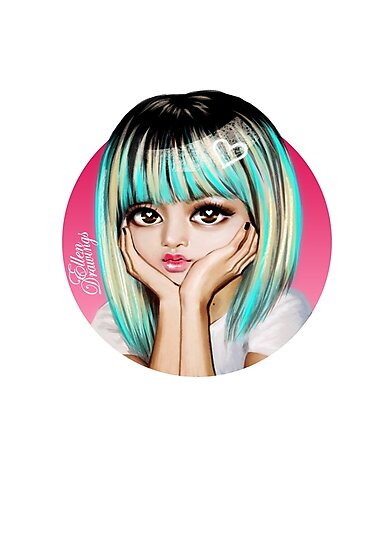 Lisa Blackpink Photographic Prints By Ellen Drawings Redbubble