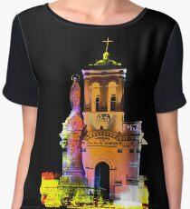 Iglesia Virgen De Bronce, Parroquia de Nuestra Senora del Carmen II Women's Chiffon Top
