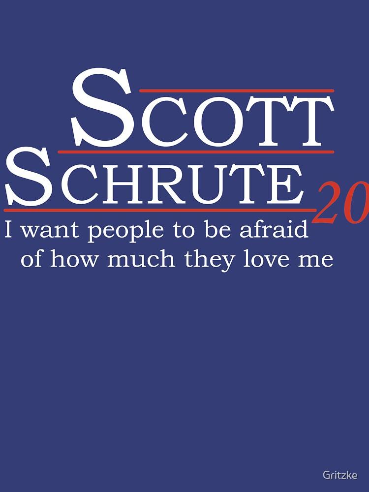 Scott Schrute for President by Gritzke