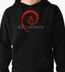 apt-get install anarchism  Pullover Hoodie