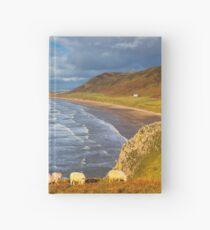 Rhossili Bay, Gower Hardcover Journal