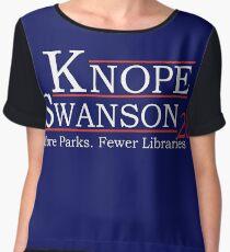 Knope Swanson 2020 Women's Chiffon Top
