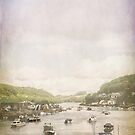Boats at Looe by Lissywitch