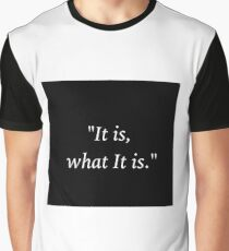 Sherlock and John - It is What it is Graphic T-Shirt