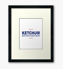 Ketchum Trump Framed Print