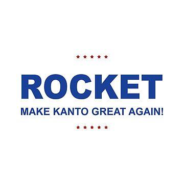 Rocket Trump by cragnoters