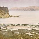 Onjohn Cove, Harlyn bay by Lissywitch