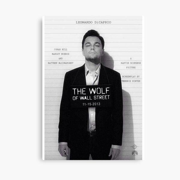 Leonardo Di Caprio - The Wolf of Wall Street Canvas Print