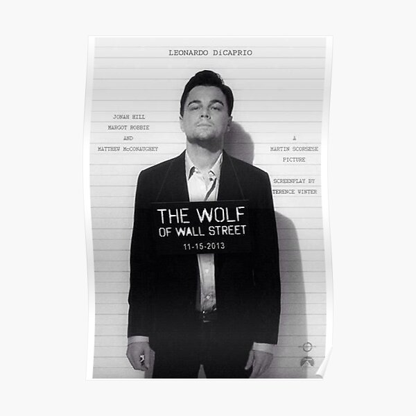 Leonardo Di Caprio - The Wolf of Wall Street Poster