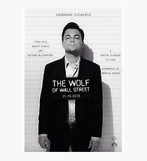 Leonardo Di Caprio - Der Wolf der Wall Street Fotodruck