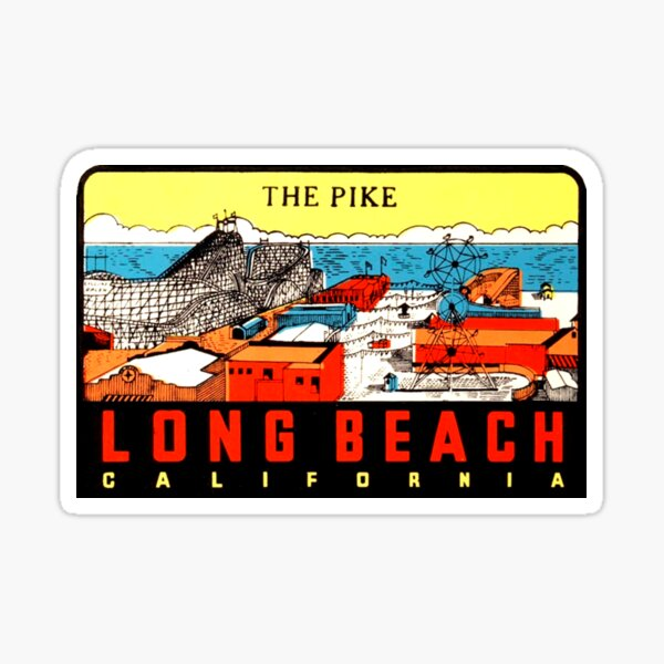 The High Sierra California Vintage Decal Sticker Souvenir Skateboard Laptop