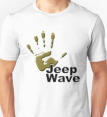 Jeep WAVE muddy hand T-Shirt