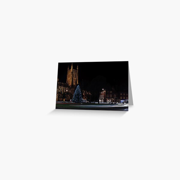 Worcester Cathedral, Christmas 2013 Greeting Card