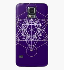 Metatron's Cube [Tight Cluster Galaxy] | Sacred Geometry Case/Skin for Samsung Galaxy