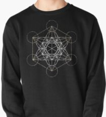 Metatron's Cube [Tight Cluster Galaxy] | Sacred Geometry Pullover