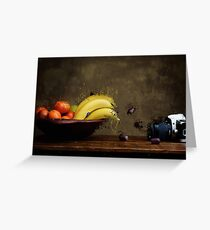 The Fruit Shoots Back! Greeting Card