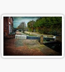 Blockhouse Lock, Worcester UK Sticker