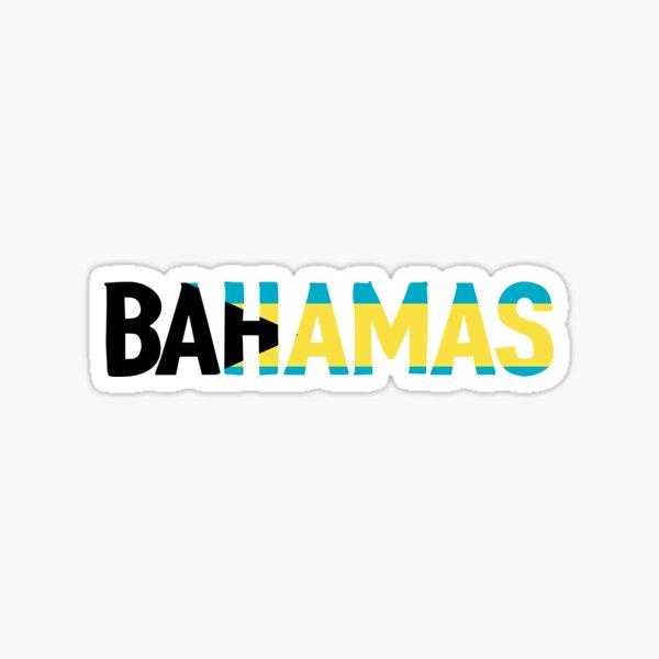 Bahamas Sticker Sticker