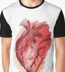 human heart Graphic T-Shirt