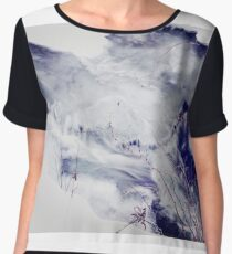 The River is Made of Marble  Chiffon Top