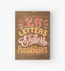 26 Buchstaben Endlose Möglichkeiten Notizbuch