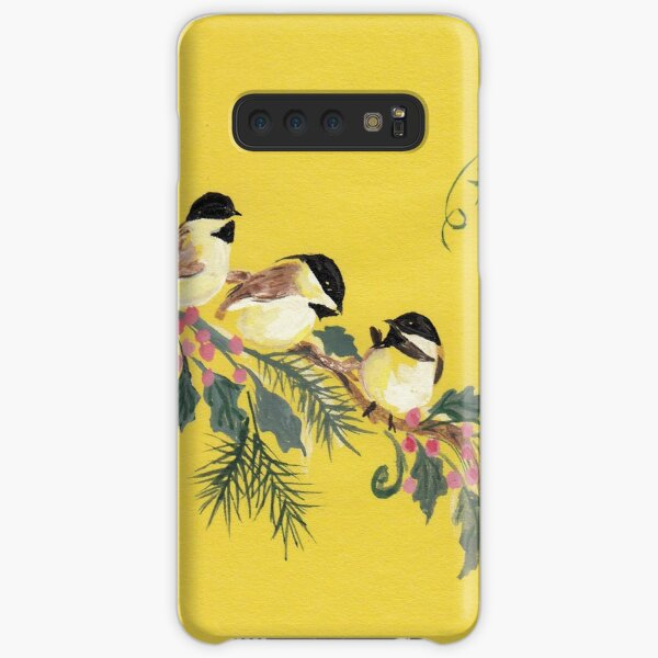 Chickadees from Amphai Samsung Galaxy Snap Case
