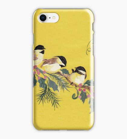 Chickadees from Amphai iPhone Case/Skin