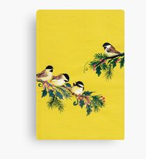 Chickadees from Amphai Canvas Print