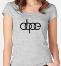 Dope Audi Women's Fitted Scoop T-Shirt