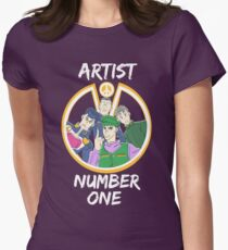 Artist Number One Womens Fitted T-Shirt