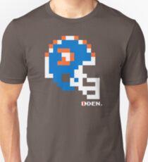 """DEN """"D"""" Helmet - Tecmo Bowl Shirt T-Shirt"""